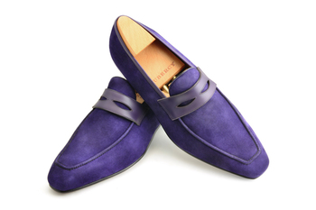 #Aubercy - Lupin - Mocassin - Ligne Passion - Prêt à chausser - Ready to wear - Sur commande - Made t