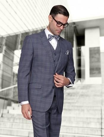 Indigo suit