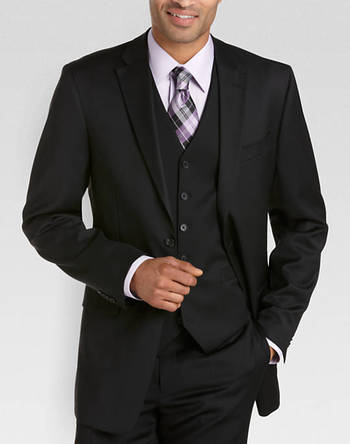 Tommy Hilfiger Black Modern Fit Suit Separates Coat (Outlet) - Suit Separate Coats | Men's Wearhouse