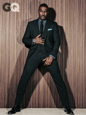 Idris Elba Looking Mighty Fine On Cover Of GQ