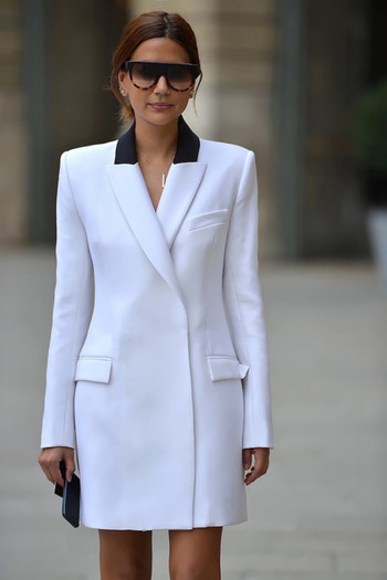 Blazer shirt dress.  What an innovative idea!! ... |