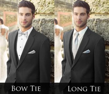 gray suit with blue bowtie - Google