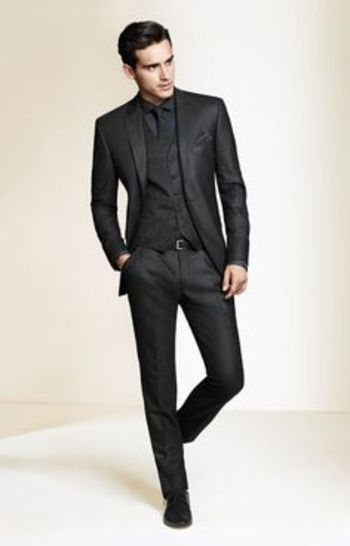 Men's Suits on Pinterest | Slim Fit Suits, Pocket Squares and Men's apparel