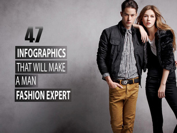 47 Infographics that will make a Man Fashion Expert - LooksGud.in