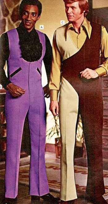 1970s men's jumpsuits [or rather what they wore for the amount of time it took to take the photo and