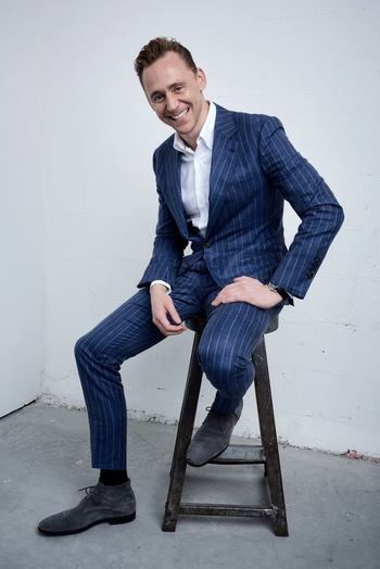 Tom Hiddleston @ The Tribeca Film Festival Getty Images Studio, New York 15.4.2016 From http://tw.wei
