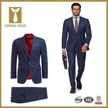 2015 New Arrival Two Button Blue Stripe Men Suit Turkey - Buy Men Suit Turkey,Man Suit 2014,Man Business Suit Product on Alibaba.com