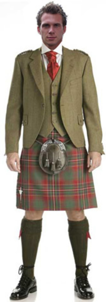 The Kilt Company – 07  Kirkton Tweed Crail Outfit - Buy package07