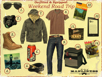 Outfitted and Equipped: Weekend Road Trip